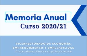 OAME Memoria Anual 20/21