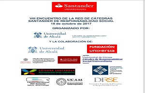 VIII ENCUENTRO DE LA RED DE CÁTEDRAS SANTANDER DE RESPONSABILIDAD SOCIAL