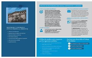 X Edición del Máster en Responsabilidad Social Corporativa y Liderazgo (Executive)