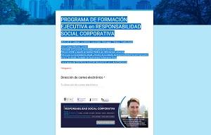 PROGRAMA DE FORMACIÓN EJECUTIVA en RESPONSABILIDAD SOCIAL CORPORATIVA