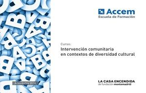 Intervención Comunitaria en Contextos de Diversidad Cultura