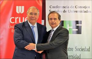 Crue Universidades Españolas y la Conferencia de Consejos sociales
