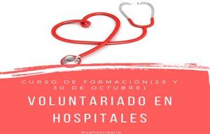 Curso de Formación Voluntariado en Hospitales