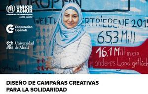 Fórmate en el diseño de campañas creativas para la solidaridad con Acnur