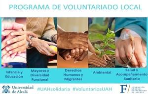 Inicio del Programa de Voluntariado Local 2020/2021
