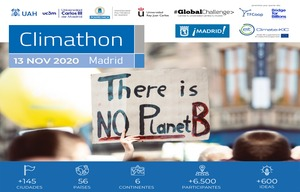 CLIMATHON MADRID 2020: Hagamos de nuestras ciudades un lugar mejor para vivir