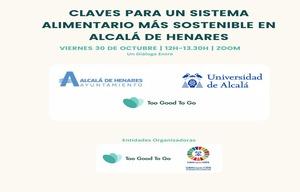 WEBINAR: Claves para un sistema alimentario más sostenible en Alcalá de Henares