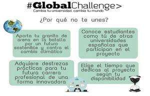 Se buscan estudiantes que quieran formar parte del proyecto Global Challenge en la UAH