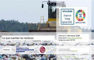Webinar: Lo que cuentan los residuos