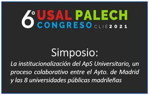 Participación en el 6º Congreso Internacional de Investigación Educativa USAL-PALECH