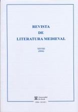 REVISTA DE LITERATURA MEDIEVAL. N.28 (2016)