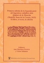 Primera edición de la Segunda parte del ingenioso caballero don Quijote de la Mancha