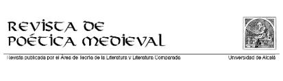 Revista de Poética Medieval