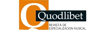 Revista de Especialización Musical Quodlibet